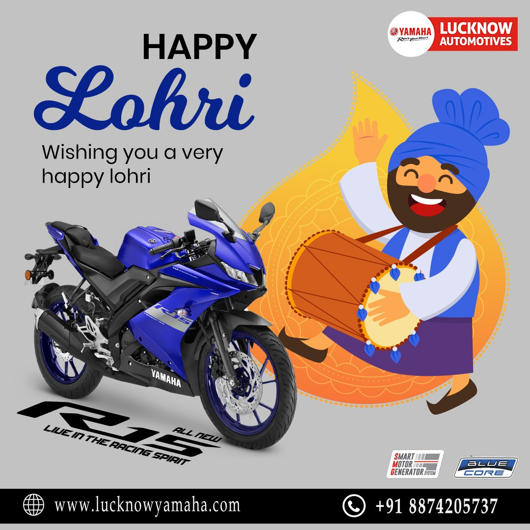 Sending love and warm hugs to you and your family this Lohri! Call Us:- For service:6388969783,8887745449 For sales: 8948433111 For spare: 9670419111 #Yamaha #yamahaindia #Lohrifestival #Lohri2021 #sports #wednesdaythought