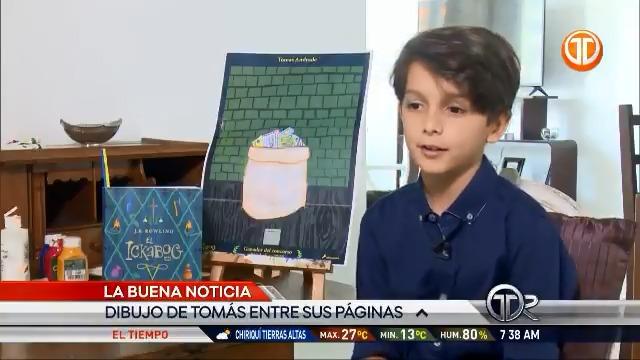 Como miembro de la familia Potter y de la @OrdenPhoenixPTY, estoy orgulloso que un niño panameño haya ganado el concurso de arte para el libro de la autora británica JK Rowling. ¡Felicidades Tomás!👏🇵🇦🇬🇧 #CreativityIsGREAT #TheAmbassadorWhoLived @TReporta