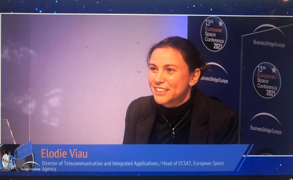 Satellite #5G delivers #connectivity, #resilience, #security, #ubiquity and cost-effectiveness, #telecoms director @esa @ElodieViau tells #BBESpaceConf. #Satcom supports the internet of things #IoT, autonomous transport, tele-education, telehealth and #smartcities