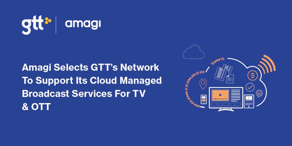 Amagi väljer GTT:s nätverk för att stödja sina molnbaserade broadcast-tjänster för TV och OTT https://t.co/Enz8OrNydB https://t.co/wNzxYqmesl