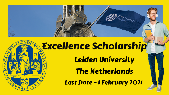 Excellence Scholarship at Leiden University, The Netherlands
