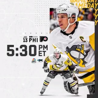 Replying to @penguins: We're thrilled to finally say...  IT'S A GREAT DAY FOR HOCKEY!  Game preview: