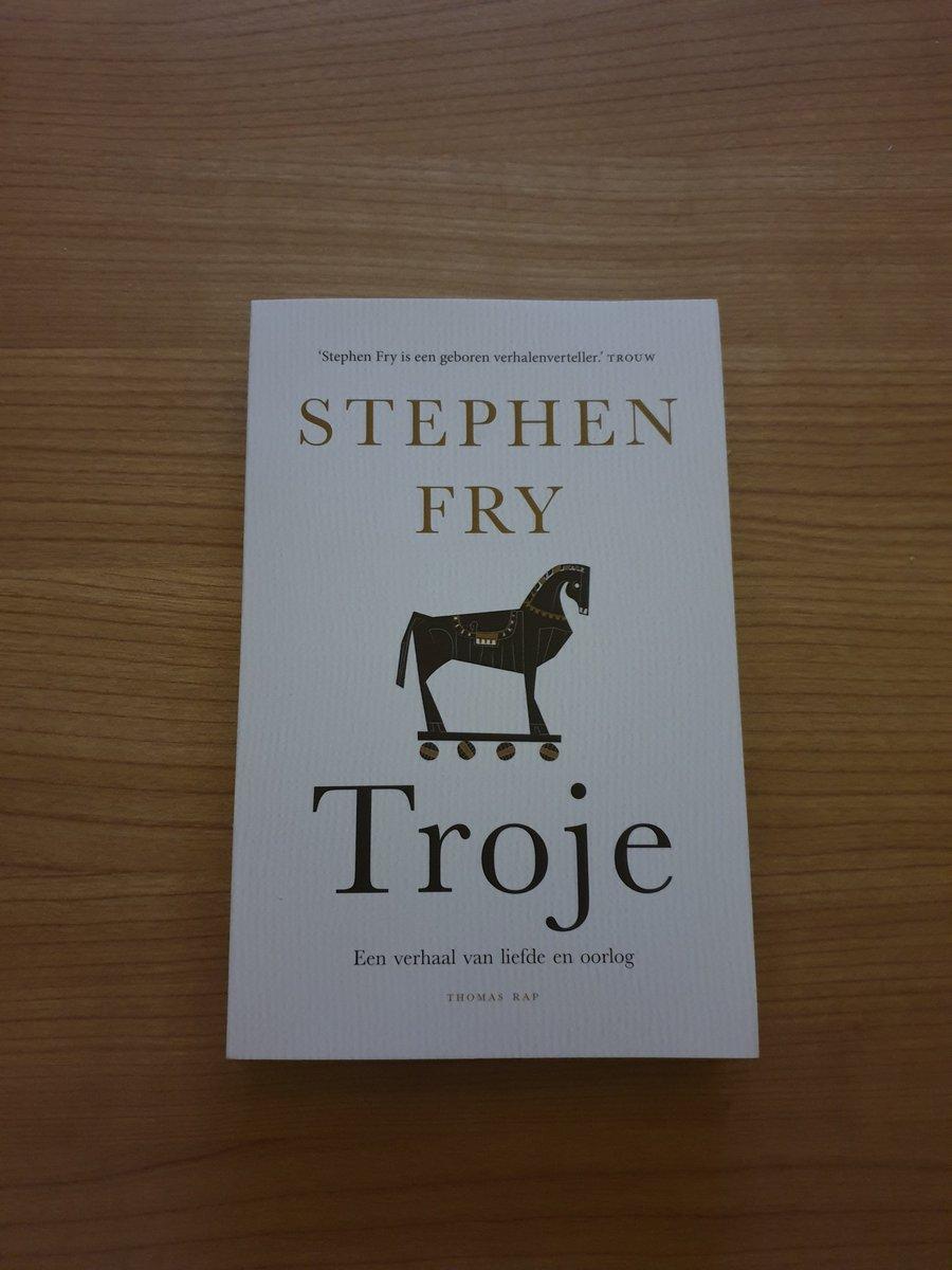 Something new to read :)   #stephenfry #troje @stephenfry