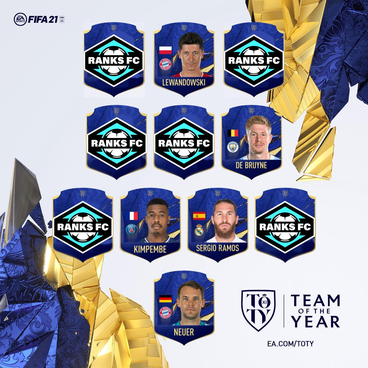 Our #TOTY is here, but there were some contentious debates. Who you got at...  RB: LB: CDM: CAM:  LW: RW:  Listen to our Team of the Year debate, with @EASPORTSFIFA ➡️