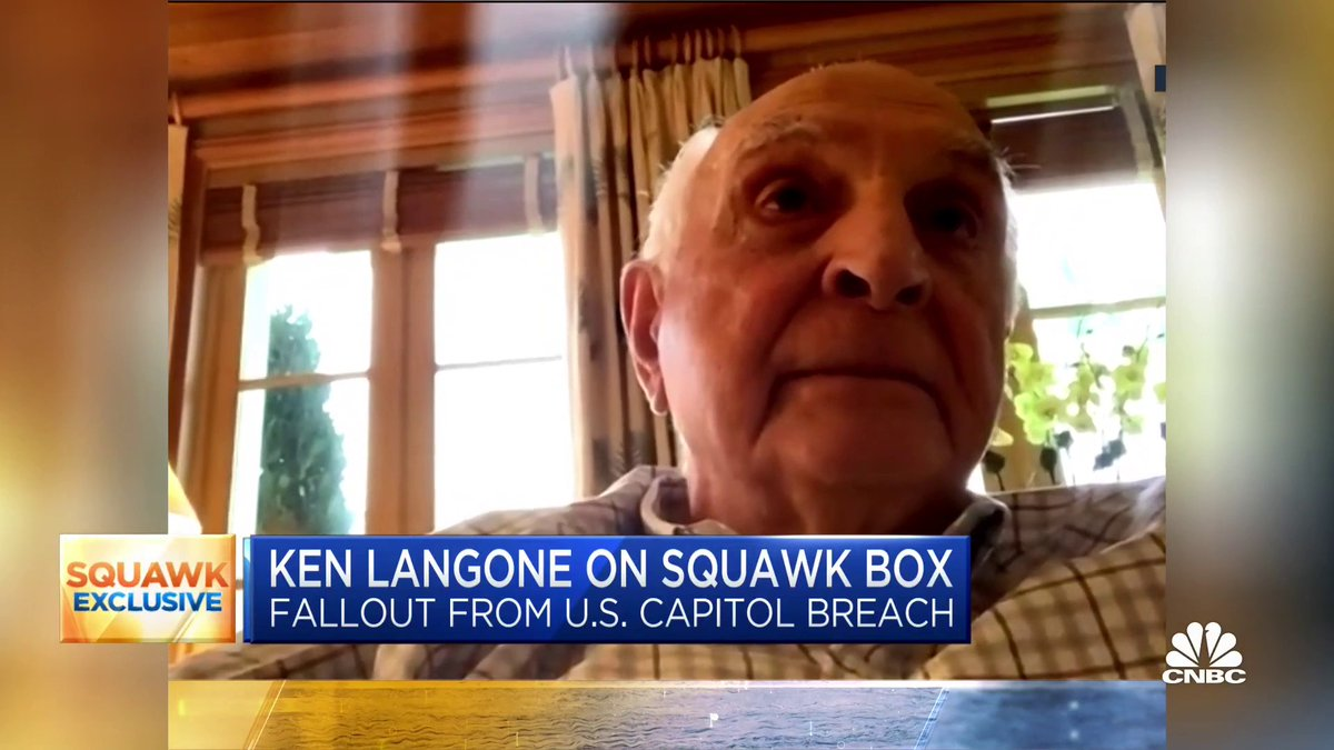 """Last Wednesday was a disgrace. It should never have happened in this country."" Ken Langone says he will do everything he can ""to make Joe Biden the most successful president in the history of the country."" https://t.co/Zqp6KEV63A https://t.co/E98mblRdyi"
