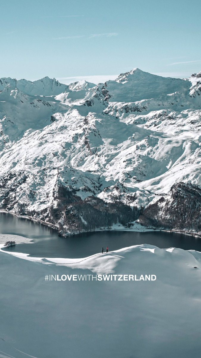 #WallpaperWednesday: Get inspiration for your dreams directly on your smartphone - with the most beautiful aspects of winter in Switzerland. #IneedSwitzerland  📍@EngadinStMoritz