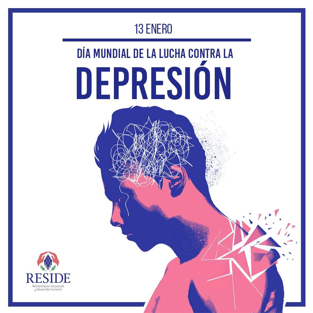 13 de Enero, Día Mundial de Lucha contra la Depresión #CentroRESIDE #hablemosdesaludmental #luchacontraladepresion #RESIDEcuidatuMENTE #cuidemosnuestramente