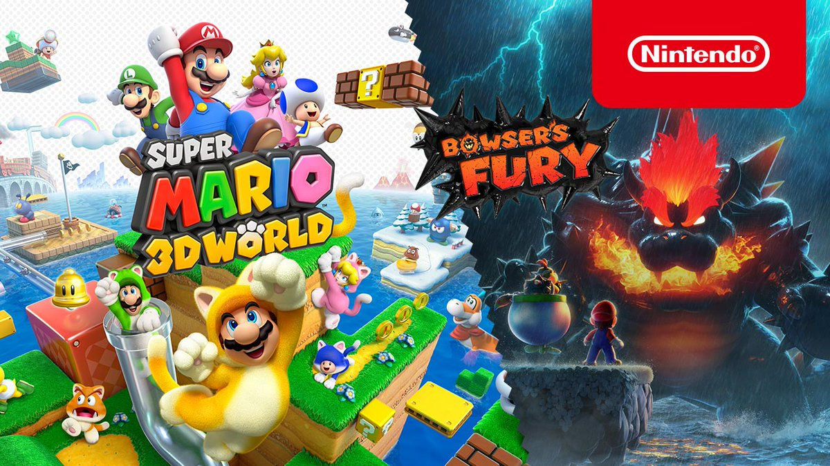 Pounce and climb to save the Sprixie Princesses in #SuperMario3DWorld + #BowsersFury! Learn more about what awaits in the Sprixie Kingdom, and about the new adventure in Lake Lapcat from Bowser's Fury when it releases on 2/12!