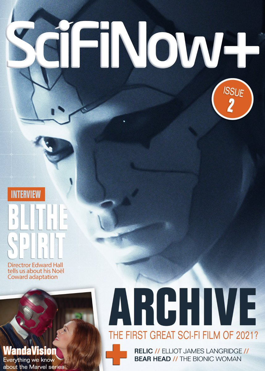 Have you downloaded @TheCompanionApp yet? It's the only way to read the ALL NEW, ISSUE 2, of #SciFiNowPlus Sign up with #promo code SCIFINOW30 for a massive 30% off!  #ArchiveMovie #Relic #BionicWoman #MaxCloud #BearHead