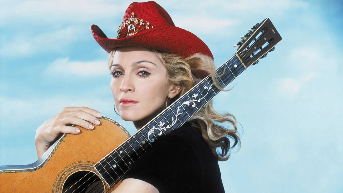 Madonna with guitar #30daysidolchallage #day28 #WaybackWednesday