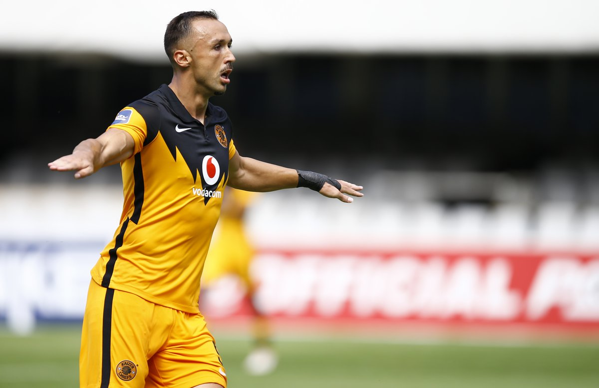Kaizer Chiefs take a 1-0 lead into the half-time break of their #DStvPrem encounter against AmaZulu at Kings Park Stadium.  Read more ➡️ https://t.co/1TLROxd1kH https://t.co/LfkxBm51n2