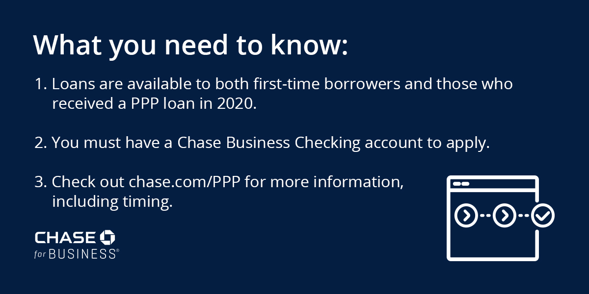 Are you thinking about applying for a Paycheck Protection Program loan through Chase? Loans will be available to both first- and second-time PPP borrowers. See more at
