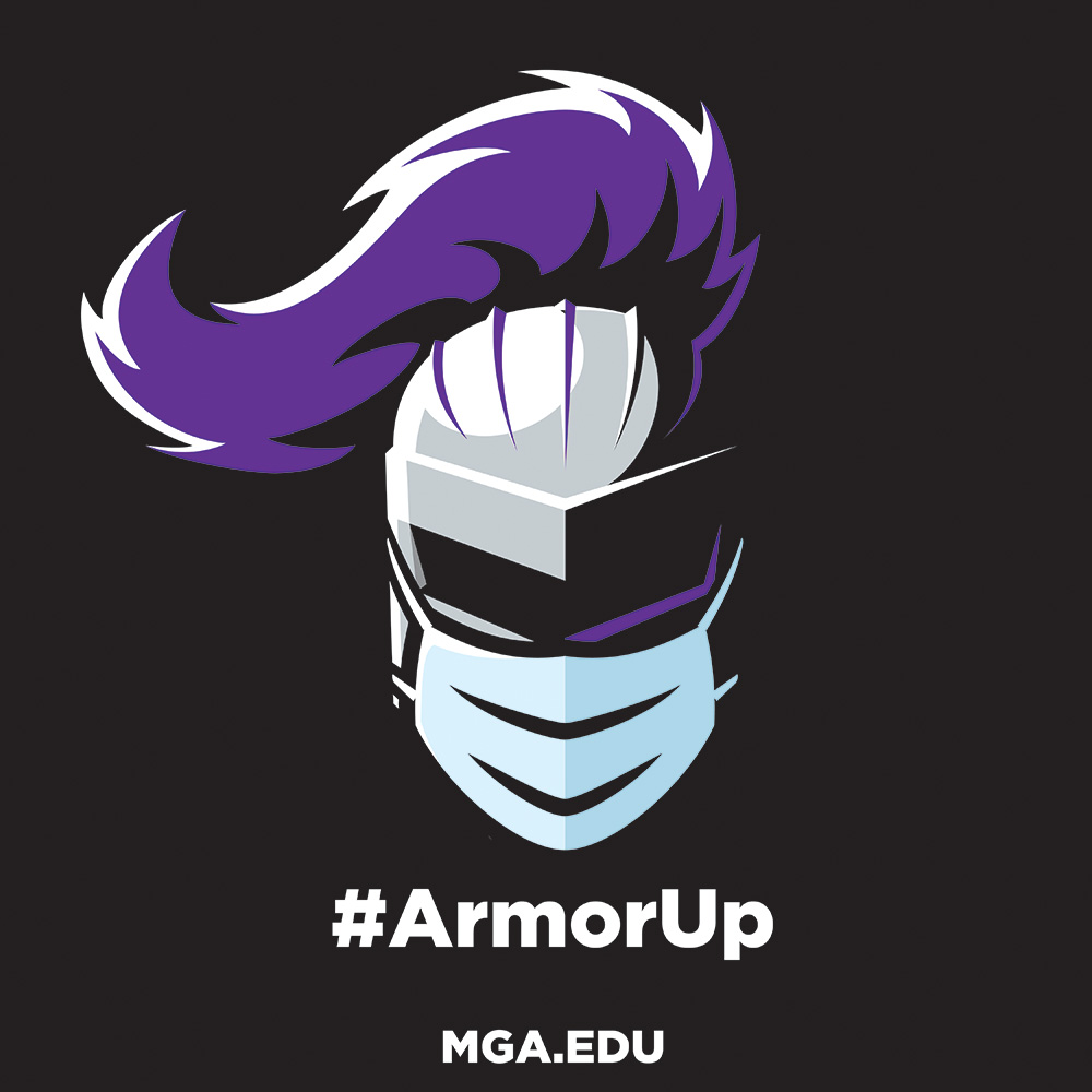 Welcome back, students! As you begin classes today, remember to #ArmorUp if you're on campus and take a minute to review #MGA's COVID-related health and safety info. We wish all our students a productive and successful spring semester!