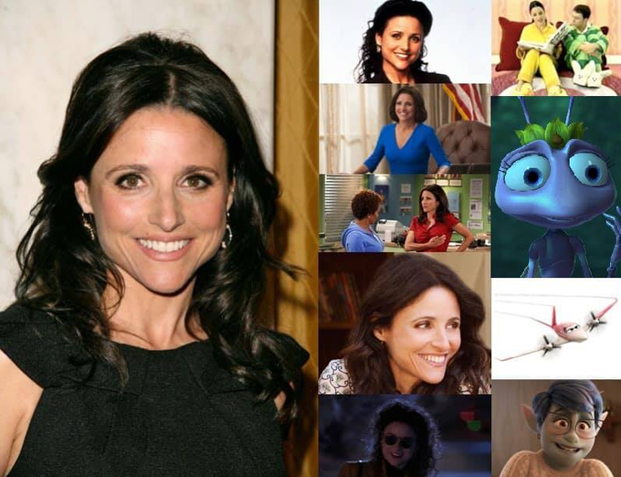 Happy 60th Birthday to Julia Louis-Dreyfus!
