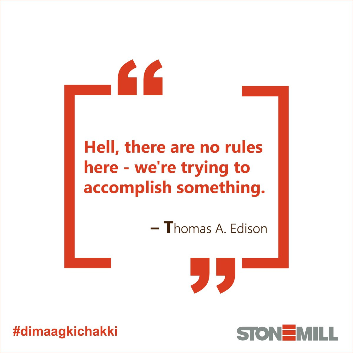 Thinking out of the box does bending certain rules. Which is why our services are unique, creative and customized for our clients.   #wednesdaythought #thomasedison #innovation #science #entrepreneurship #startup #webinar #writingcommunity #writers #inspirational #dimaagkichakki