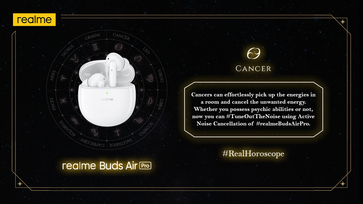 Cancers can #TuneOutTheNoise through their energies and now so can you!  Tag a Cancer friend in the replies and let them know about the #RealHoroscope.  Stay tuned for more!