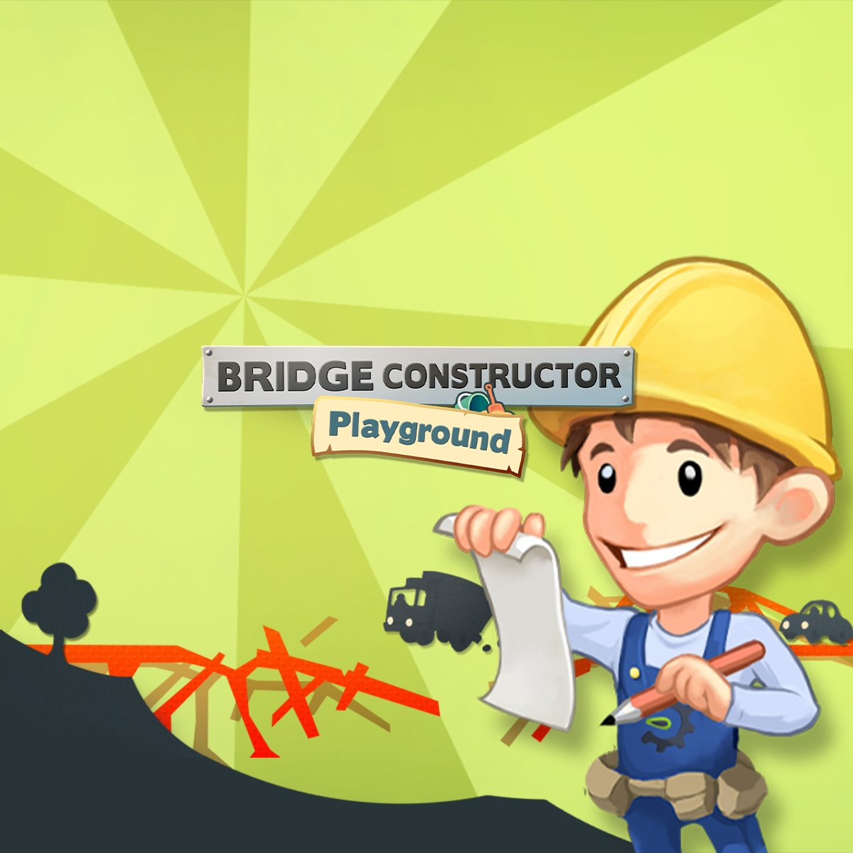 Today we welcome 2 new Bridge Constructor games from @HeadupGames in our ranks 🎊  Let your creativity run wild and bring your vehicles safely to their destination.  👉   Get all titles with discounts up to –60% & complete the collection for another 15% 🙌
