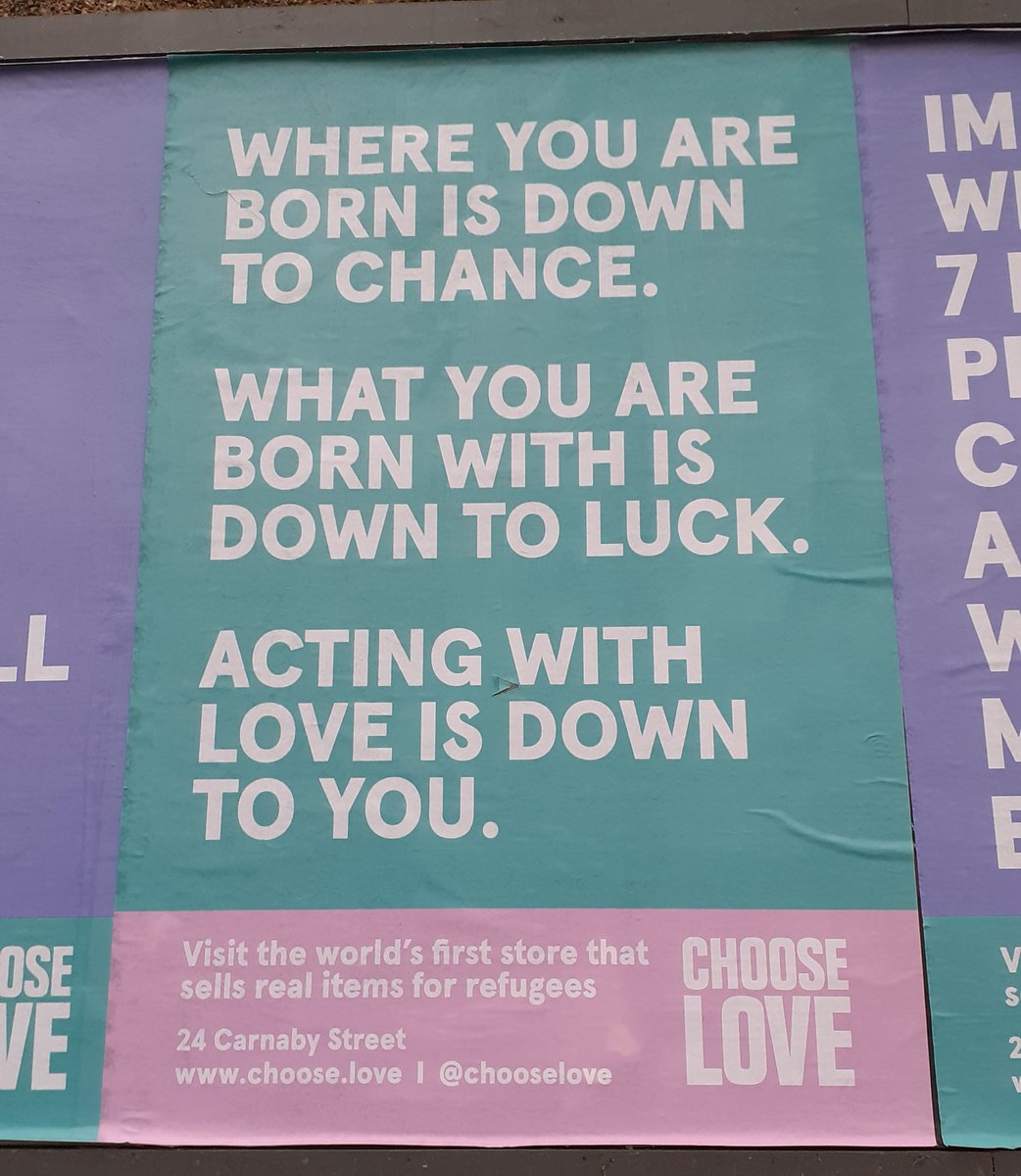 Replying to @_joejeffries: Love is a poster that makes you stop and read
