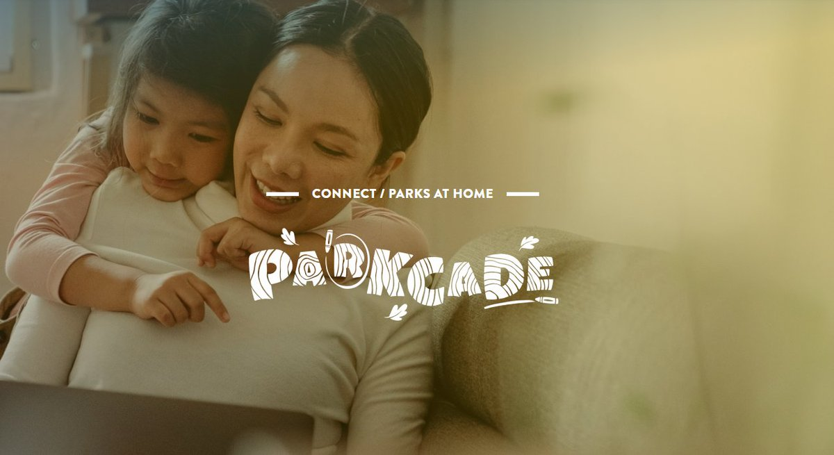 Need a mental vacation to a national park? Us too.  Check out our Parkcade. ➡