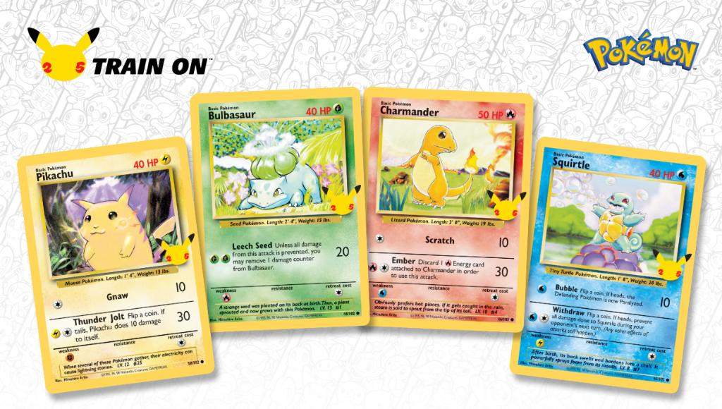 Gotta love that new booster pack feeling.   Hope your binders are ready for the special 25th anniversary-themed collections coming to the #PokemonTCG this year, Trainers!   #Pokemon25