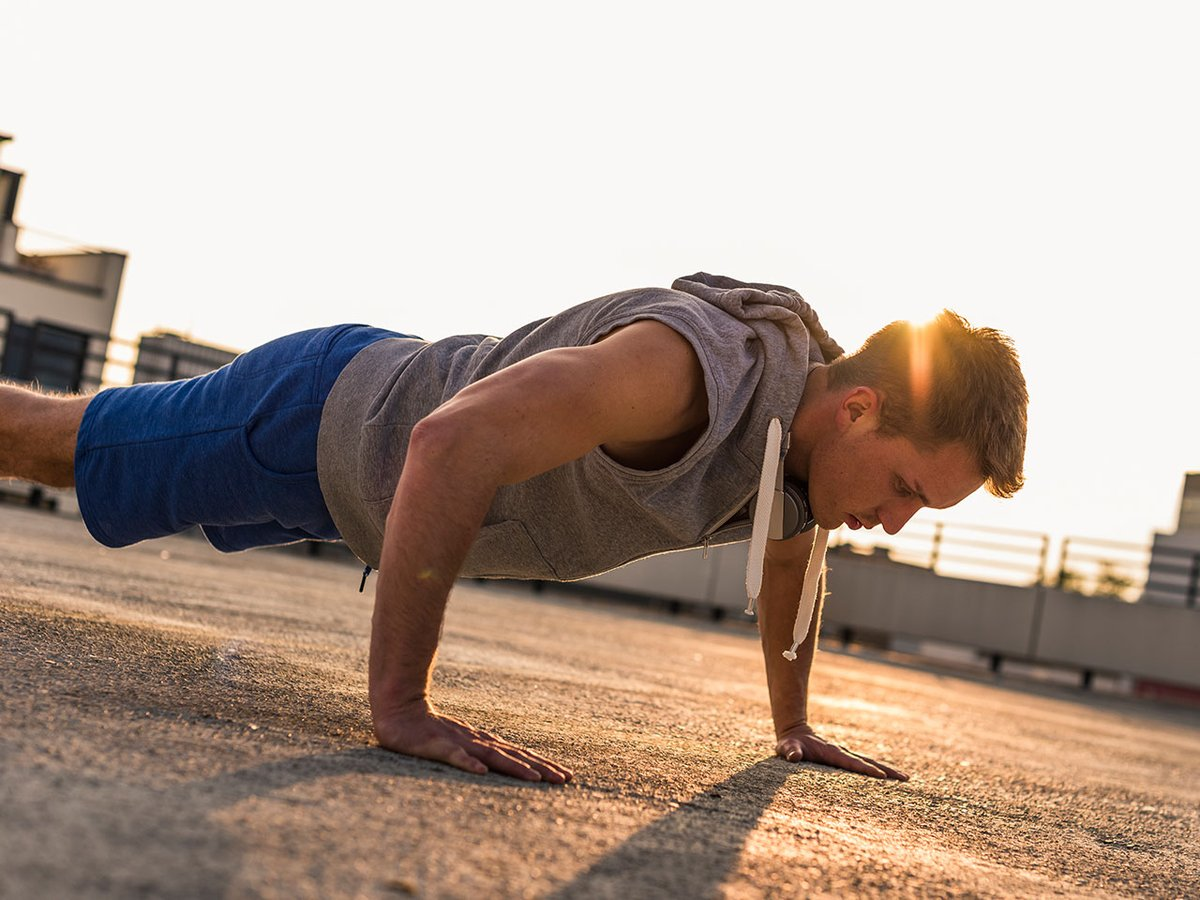 The 15-Minute, 3-Move Bodyweight Workout Will Stretch Your T-Shirt To The Limit  #lamuscle #training #menshealth #home #homeworkout #coronavirus #covid19 #isolation #bodybuilding #buildmuscle #workout #fitness #exercise #weightlifting #muscle #lean #gym