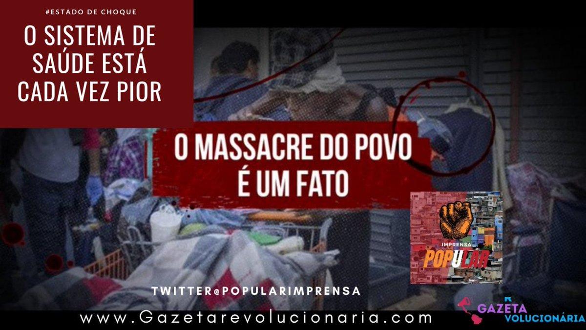 VÍDEO: O SISTEMA DE SAÚDE ESTÁ CADA VEZ PIOR Ricos ficando mais rico, e pobre ficando mais pobre e morrendo de fome.     #EstadoDeChoque #ImprensaPopular #OCapitalismo