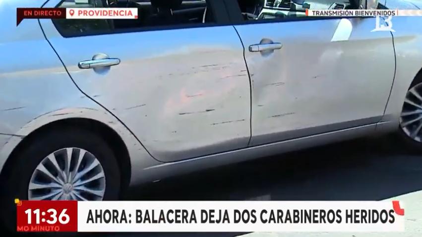 🔴 Dos carabineros heridos tras balacera en Providencia  📡 T13 EN VIVO »