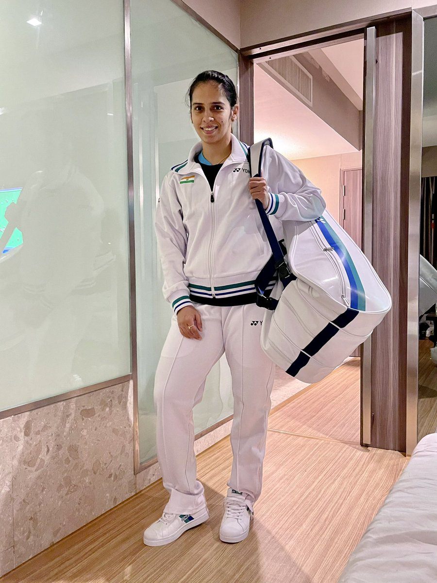 Good first round win today at Thailand open 2021 👍.. against kisona selvaduray from Malaysia .. 21-15 21-15 🙏🙏.. Was so good to wear all white attire thank u so much @YonexInd @yonex_jp @yonex_badminton for the lovely clothing ❣️❣️