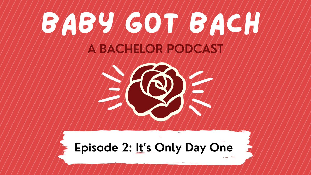 It's been a WEEK to say the least, y'all – BUT HEY, WE GOT THIS WEEK'S EPISODE OF @BabyGotBachPod FOR YA, SO THERE'S THAT! ✨   As always, we'd love for you to check it out wherever you listen to podcasts, rate & review (this always means so much 🥺), & share! 🌹 #TheBachelor