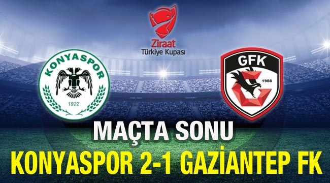 Gaziantep FK 1- 2 Konyaspor  https://t.co/JfiU26Y4S9 https://t.co/u955NPnQvk