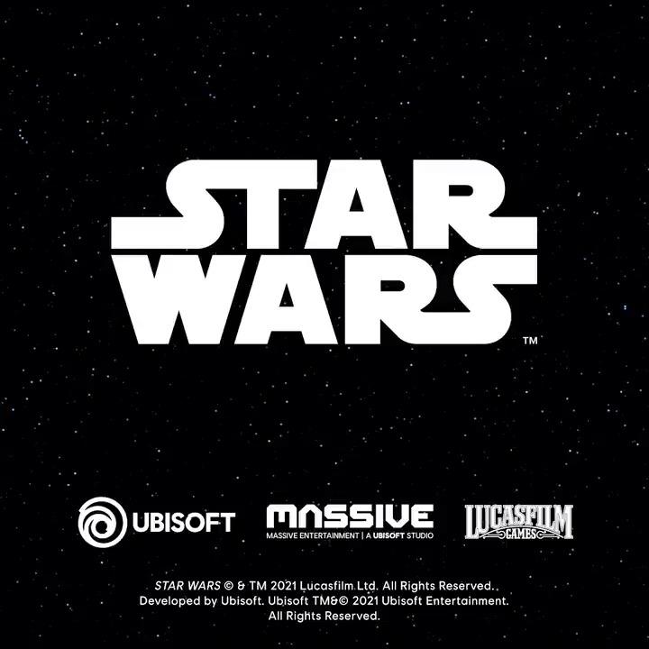 ¡Nos complace anunciar que estamos trabajando en una nueva aventura de mundo abierto de Star Wars con @LucasfilmGames!