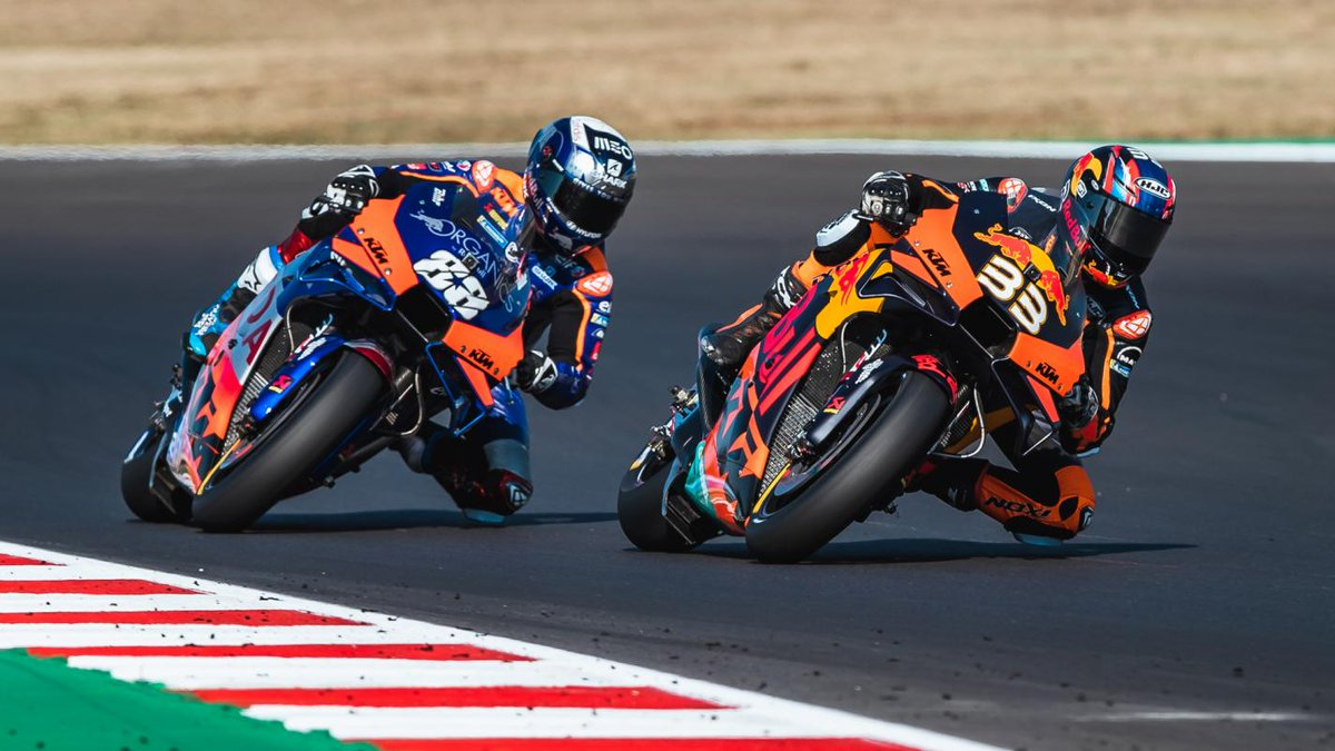 #KTM commits to a long-term contract to remain in #MotoGP until 2026. It will also continue to compete in categories such as Rally, MXGP, Enduro and AMA Supercross and Motocross:  #Tech3 | @MsportXtra