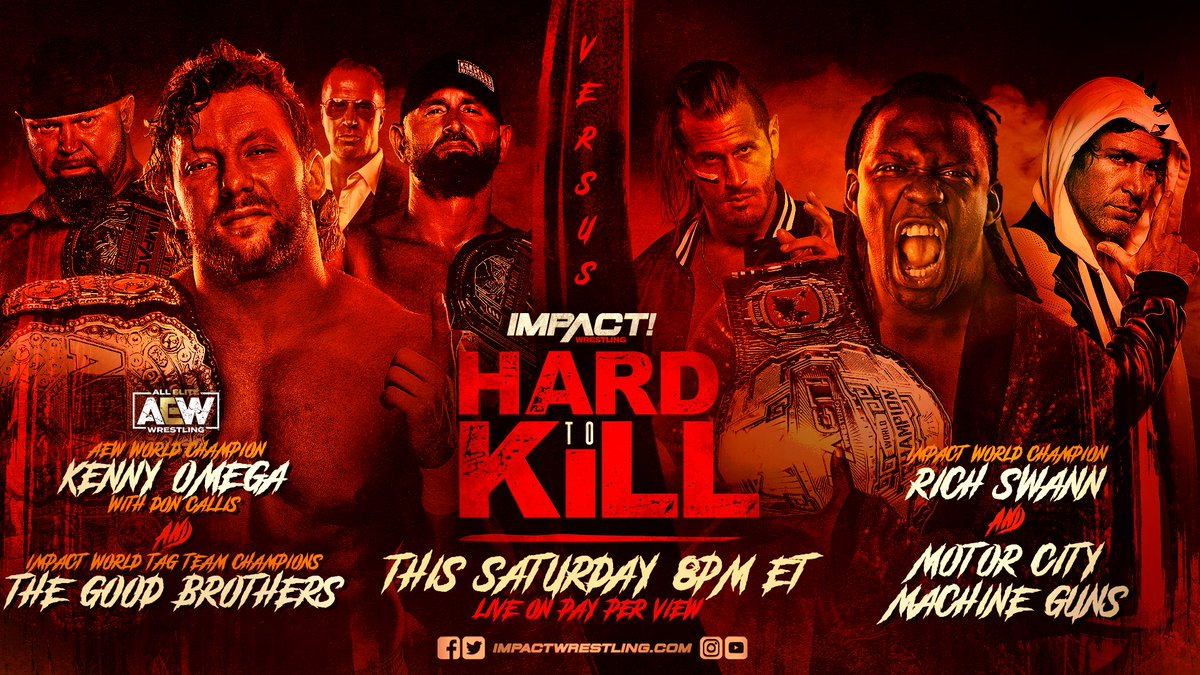 BREAKING: Starting at #HardToKill, Matt Striker and DLo Brown will be IMPACT Wrestlings new broadcast team! @AsleepOnThBeach @dlobrown75 FULL DETAILS: impac.tw/Announcers