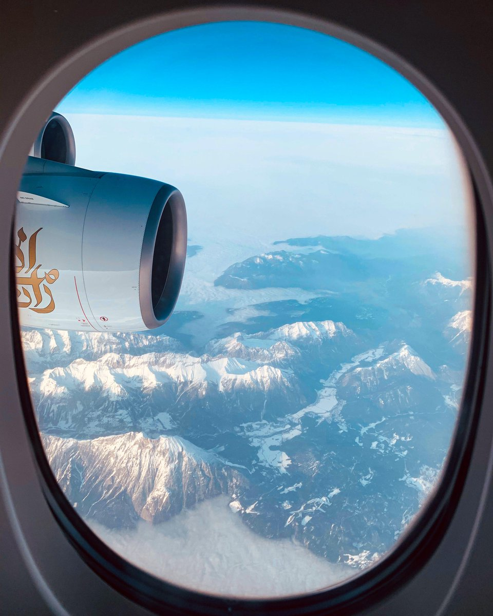 What's your favourite window view?  #WindowViewWednesday #FlyEmiratesFlyBetter  📸 Joseph Hajji