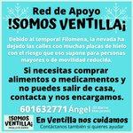 Image for the Tweet beginning: Desde #SomosVentilla hemos creado Red