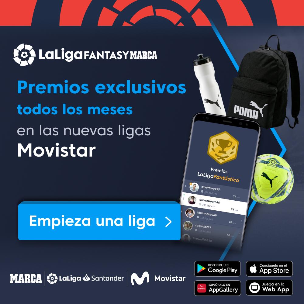 🤩 ¡Gana premios exclusivos en las nuevas ligas @movistar_es de #LaLigaSantander en @FantasyLaLiga!  📱 Descarga la app y consigue espectaculares premios:    #HayQueVivirla
