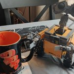 Image for the Tweet beginning: Wall-E is hitting the java
