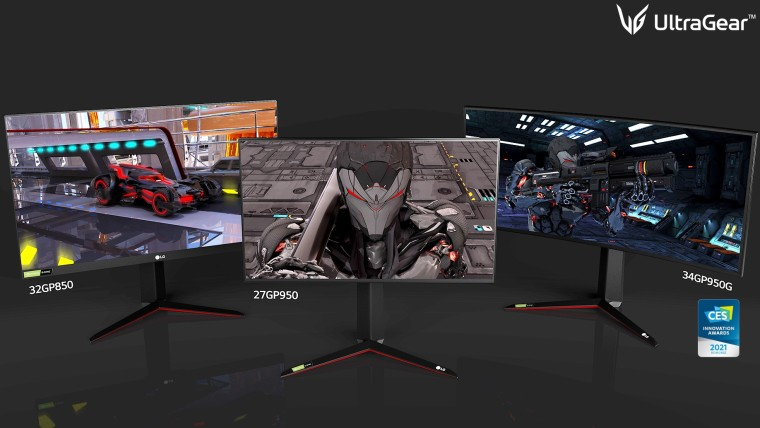 LG introduces new Ultra monitors for gaming, creators, and productivity #LG #CES2021
