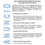 Image for the Tweet beginning: REHABILITACIÓN DE VIVIENDAS | 🏠 Se