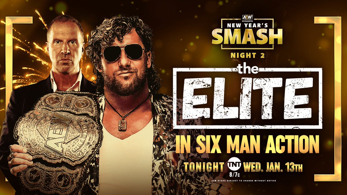 AEW New Year's Smash Night 2 Results