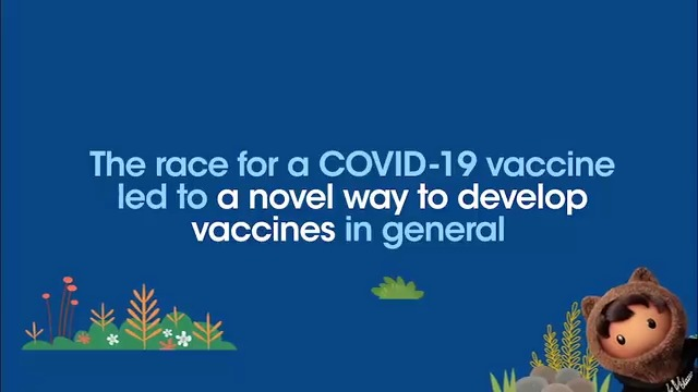 Not only were two viable COVID-19 vaccines developed at warp-speed 🚀...  ... @Pfizer & @Moderna used a game-changing design, RNA (mRNA), opening up the possibility of using similar designs to fight cancer, heart disease, & other infectious diseases.