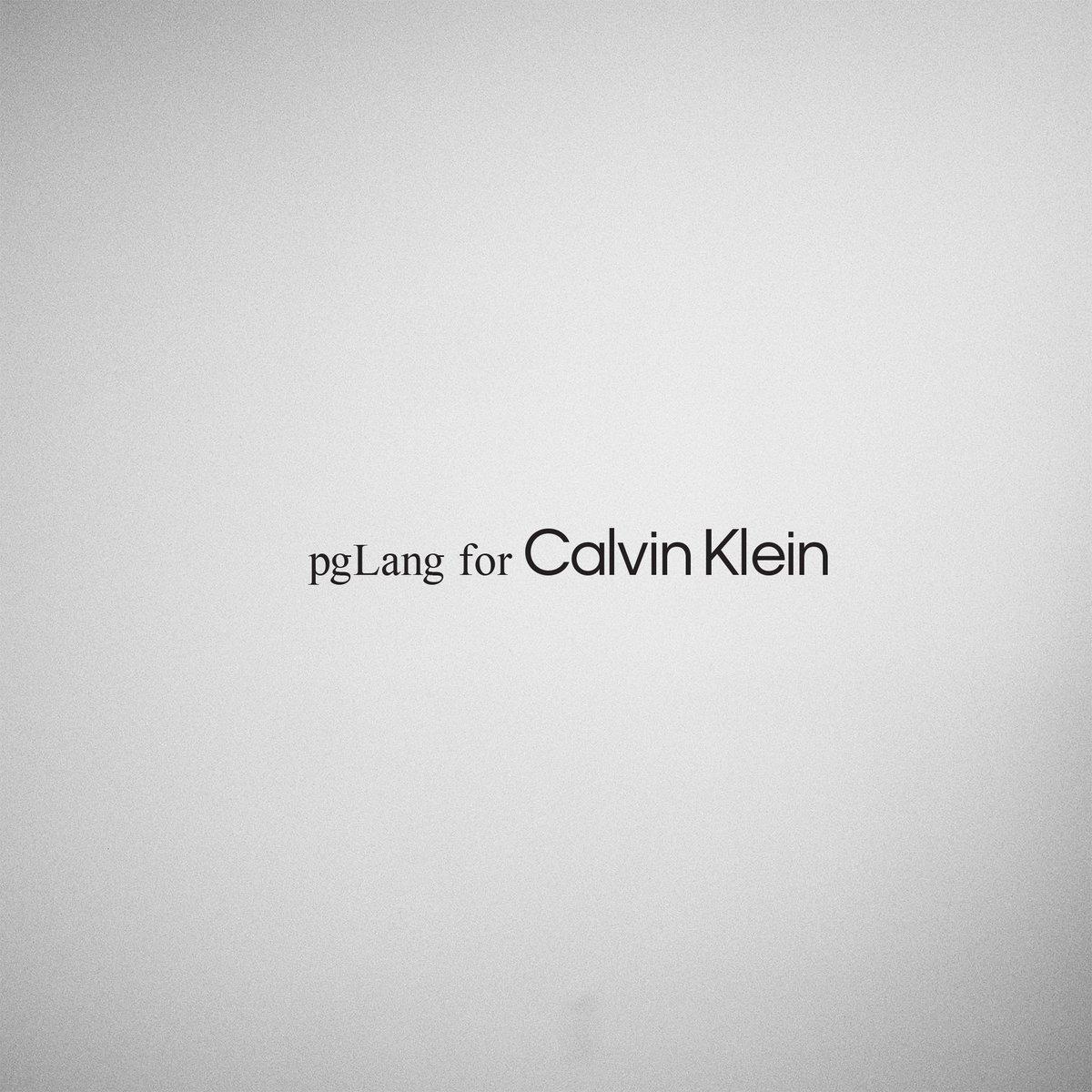 pgLang for @CalvinKlein