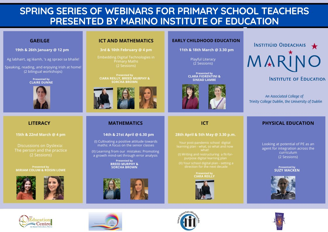 Series of Webinars for Primary School Teachers pre...