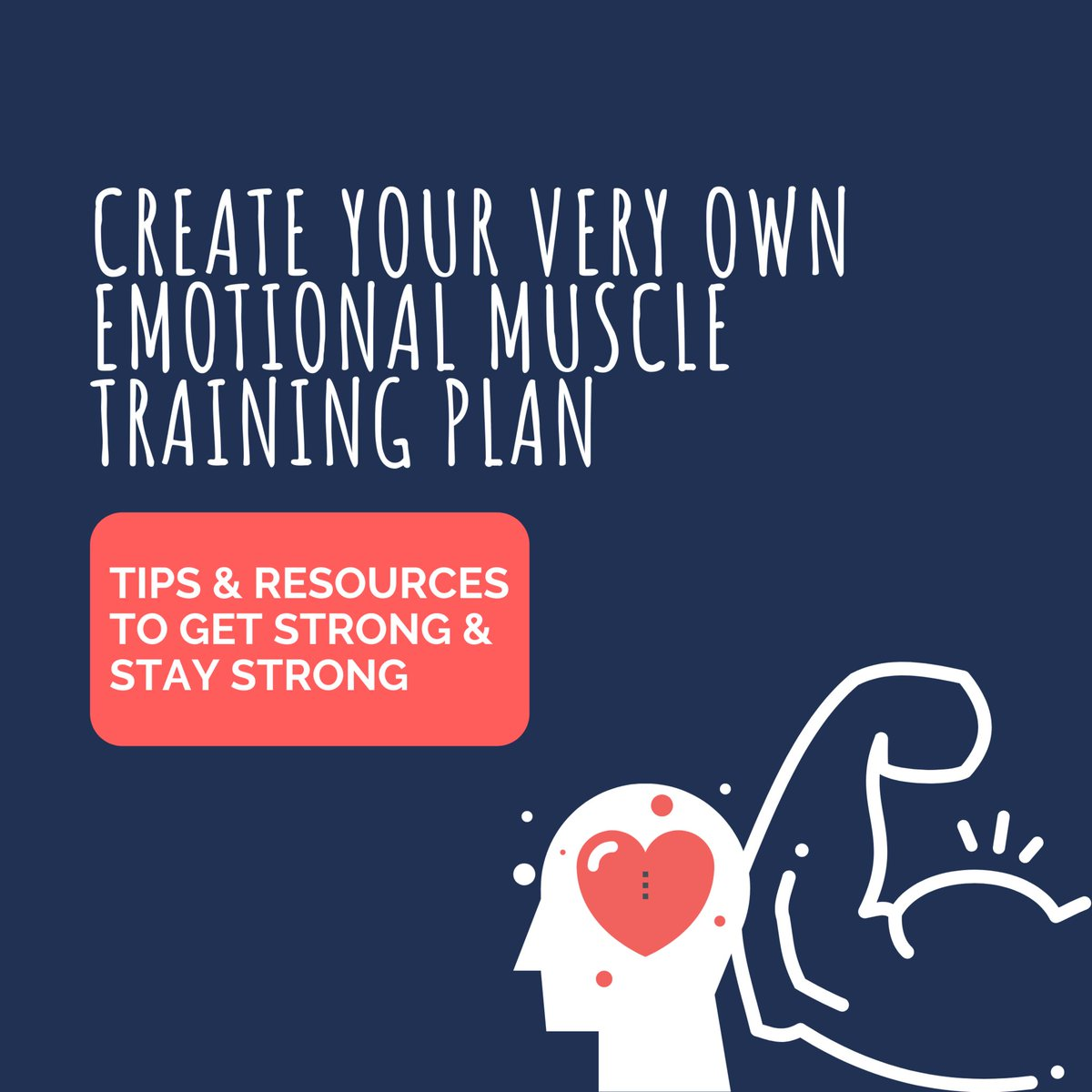Strengthening our #emotionalmuscle enables us to build resilience so we can handle whatever life throws at us. 💪 Everyone's #mentalfitness journey is different; the key is to find what works for you and keep working at it!