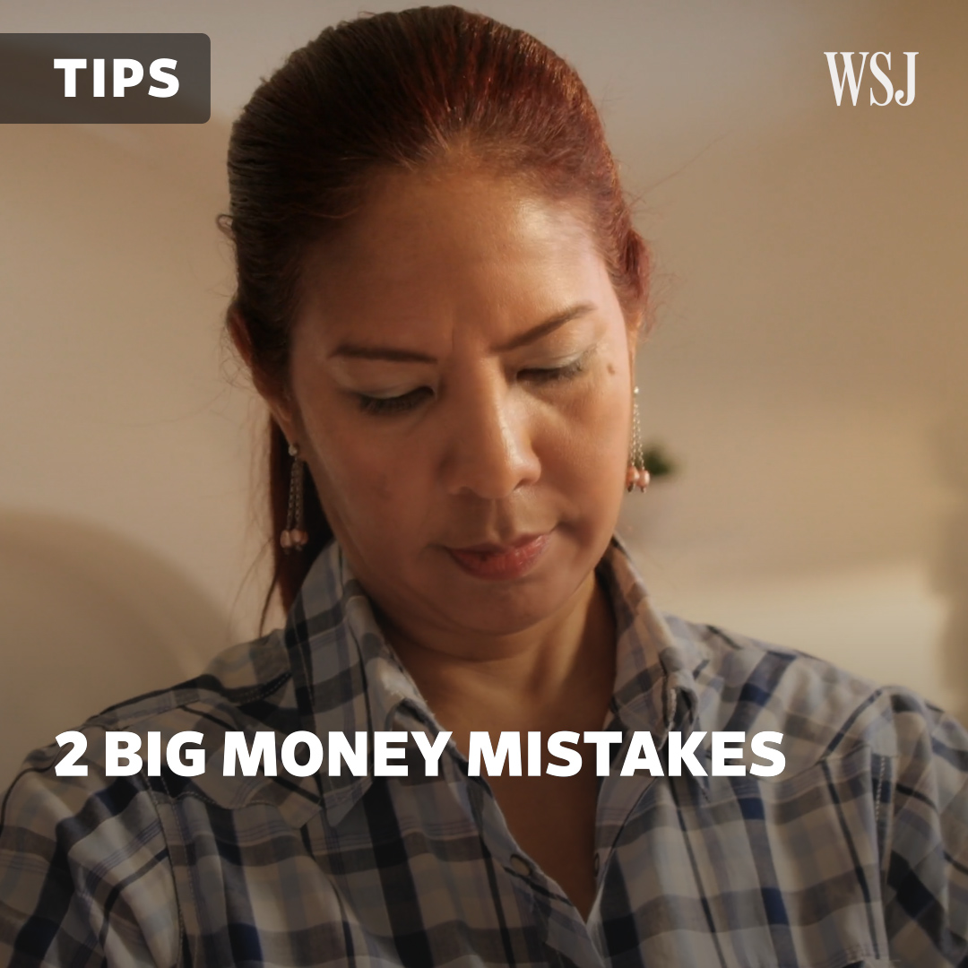 What two big money mistakes do people make during hard times? @CLourosa reports. #WSJWhatsNow