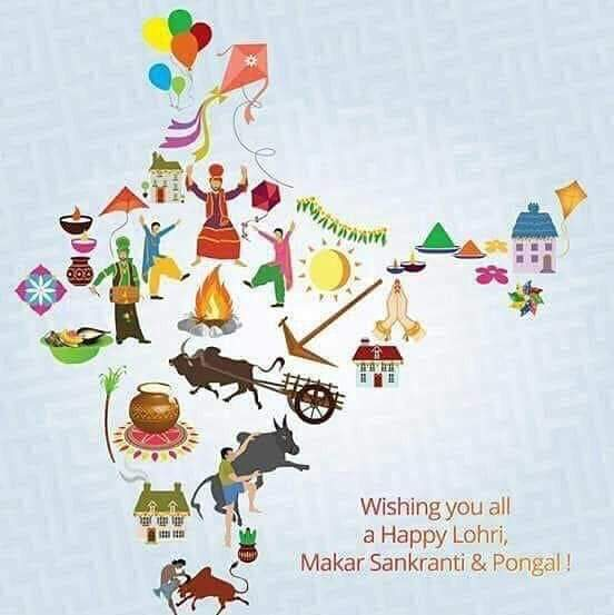 Happy Makar Sankranti and related festivals to all who celebrate. May the world be healed at this auspicious time as the Sun moves to Capricorn. #prayer #nature