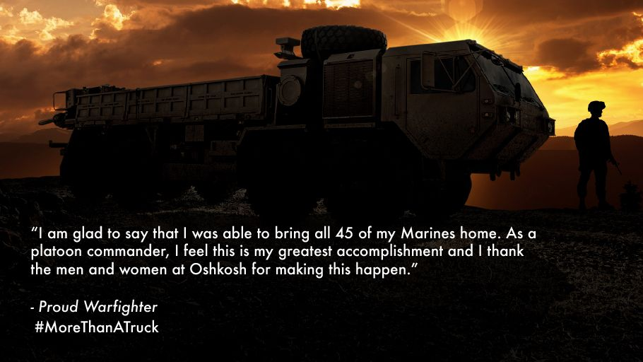 We're grateful for our Warfighters and their unmatched dedication to protect others. #MoreThanATruck https://t.co/dOMfnWlp2X