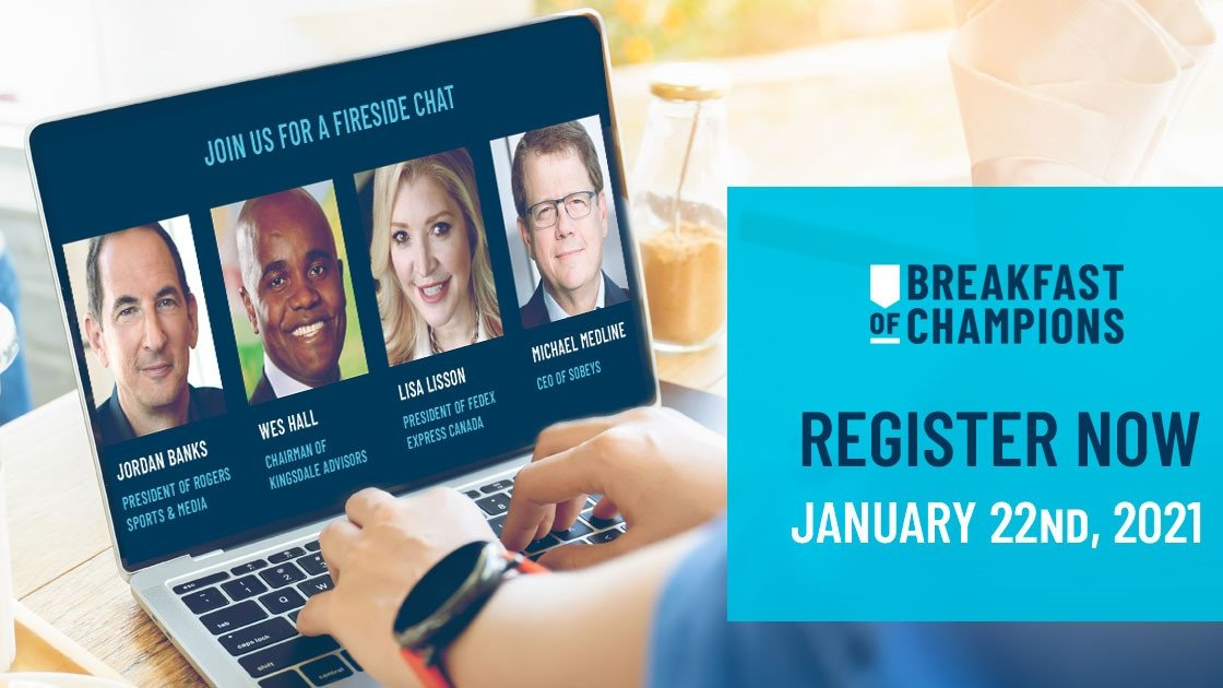 #Network with other young professionals while supporting SickKids ➡️ Join the 2021 @Champs4SickKids event January 22 @ 8:30AM. You'll have the opportunity to learn from business leaders @wesleyjhall @LisaSLisson Michael Medline & @Jordan_Banks. Register: