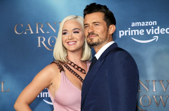 Katy Perry Wishes Shimmering Mirror Orlando Bloom the Happiest of Birthdays