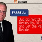"Image for the Tweet beginning: Chris Farrell in Breitbart: ""Judicial"